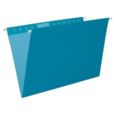 Pendaflex® Coloured File Hanging Folder, Legal Size, Teal, 25/Box