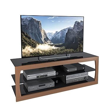 CorLivingMC – Meuble pour téléviseur jusqu'à 65 po TSL-223-T de la collection Santa Lana, imitation teck