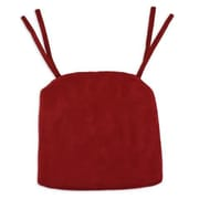 Brite Ideas Living Passion Suede Foam Seat Cushion; Cinnabar