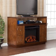 Wildon Home   Brentford TV Stand with Electric Fireplace