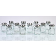 Global Amici Hexagonal Spice Jar (Set of 12)