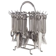 William Sheppee Elephant Tail 60 Piece Flatware Set