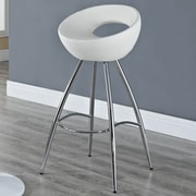 Modway Persist 28'' Swivel Bar Stool with Cushion; White