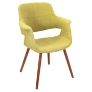 LumiSource Vintage Flair Arm Chair; Green