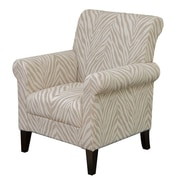 Home Loft Concepts Tatum Zebra Fabric Club Chair