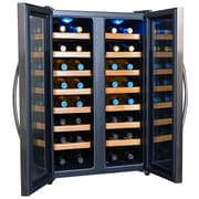 NewAir 32 Bottle Dual Zone Freestanding Wine Refrigerator