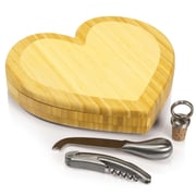 Picnic Time Heart Cutting Cheese Tray