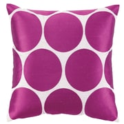 Sis Boom by Jennifer Paganelli Erin Embroidered Linen Throw Pillow; Pink