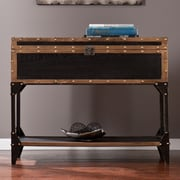 Wildon Home   Draven Travel Trunk Console Table
