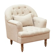 Home Loft Concepts Loria Tufted Arm Chair
