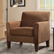 Kingstown Home Warner Microfiber Arm Chair