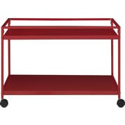 Altra Marshall Coffee Table Cart; Red