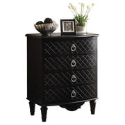 Monarch Specialties Inc. Bombay 4 Drawer Chest