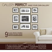 NielsenBainbridge 9 Piece Wood Matted Picture Frame Set