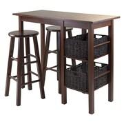 Winsome Egan 5 Piece Pub Table Set
