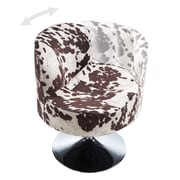 Kingstown Home Barnabas Round Swivel Side Chair