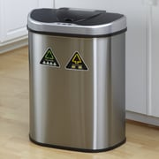 Nine Stars Nine Stars 18.5 Gallon Motion Sensor Stainless Steel Trash Can
