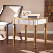 Wildon Home   Huxley Mirrored End Table
