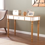 Wildon Home   Huxley Mirrored Console Table