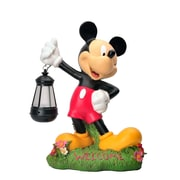 Woods International Disney Garden LED Mickey Mouse Statue