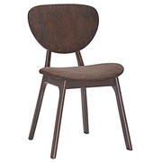 Modway Murmur Dining Side Chair; Walnut Brown