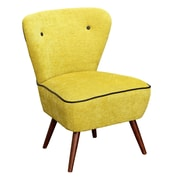 TMS Madeline Accent Chair; Citron
