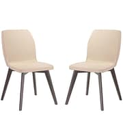 Modway Proclaim Dining Side Chair (Set of 2); Beige