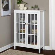 TMS Portland Tall Cabinet; White