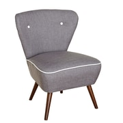 TMS Madeline Accent Chair; Gray