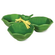 Boston International Emerald Bird Condiment Bowl