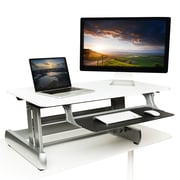 InMovement Elevate Standing Desk, White (IMWDESKREADY01)
