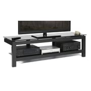 Plateau SL Series TV Stand; Black