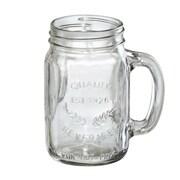 Artland Oasis Mason Jar with Handle (Set of 4)