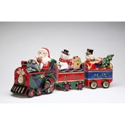 CosmosGifts 3-Piece Christmas Train Canister Set