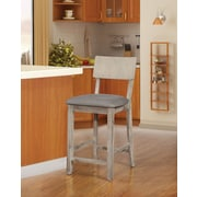 Linon Jordan 24'' Bar Stool; Natural