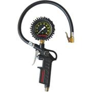Dual Wheel Type Tire Pressure Gauges - Pistol Grip Dial Inflator Gauges, 2/Pack