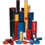 "Postal Tubes - Plug-Seal Mailing Packaging Tubes, PC089, Dimensions Dia."" x L"" - 2 x 25, 25/Pack"