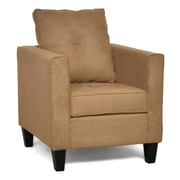 Piedmont Furniture Jessica Arm Chair; Bulldozer Mocha