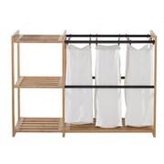 Trinity EcoStorage  3 Bag Bamboo Laundry Station
