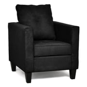 Piedmont Furniture Jessica Arm Chair; Bulldozer Black