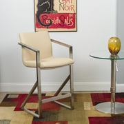 Matrix Kurv 26'' Bar Stool; Beige