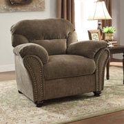 Woodhaven Hill Valentina Arm Chair; Camel