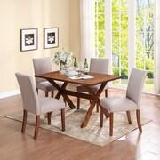 Dorel Living Trestle Dining Table