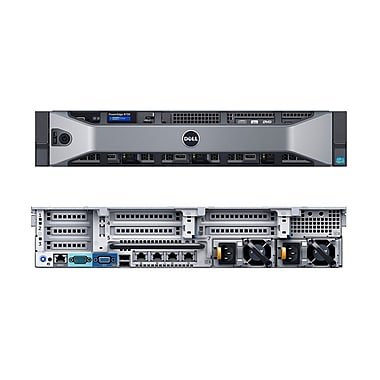 Dell – PowerEdge R730 recertifié, 2x Intel Xeon 8 coeurs 1,8 GHz E5-2630, DDR4 64 Go, SAS 900 Go, 2x750W, H730