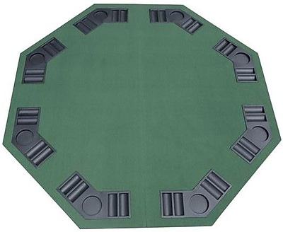 Aosom HomCom Deluxe Foldable Card Game Table Top