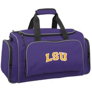 Wally Bags NCAA Collegiate 21'' Gym Duffel; LSU Tigers
