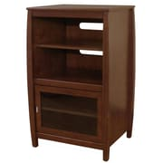 Wildon Home   Veneto Audio Cabinet; Walnut