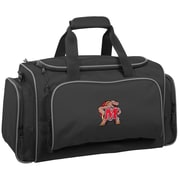 Wally Bags NCAA Collegiate 21'' Gym Duffel; Maryland Terrapins