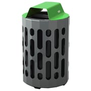 Frost 42-Gal Stingray Waste Receptacle; Green