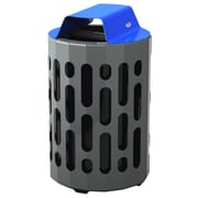 Frost 42-Gal Stingray Waste Receptacle; Blue